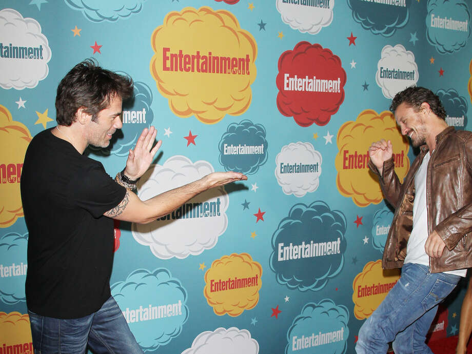 Billy Burke (L) and David Lyons arrive at the Entertainment Weekly's Annual Comic-Con celebration held at Float at Hard Rock Hotel San Diego on July 20, 2013 in San Diego. Photo: Michael Tran, FilmMagic / Getty Images