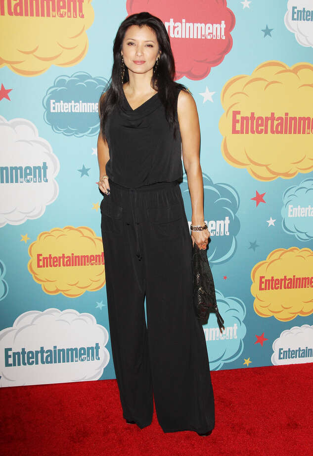 Kelly Hu arrives at the Entertainment Weekly's Annual Comic-Con celebration held at Float at Hard Rock Hotel San Diego on July 20, 2013 in San Diego. Photo: Michael Tran, FilmMagic / Getty Images