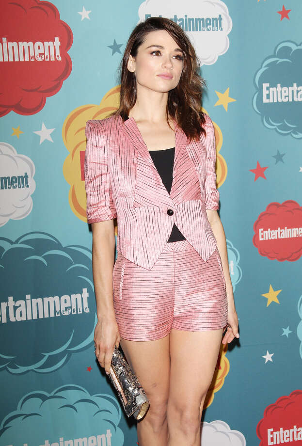 Crystal Reed arrives at the Entertainment Weekly's Annual Comic-Con celebration held at Float at Hard Rock Hotel San Diego on July 20, 2013 in San Diego. Photo: Michael Tran, FilmMagic / Getty Images