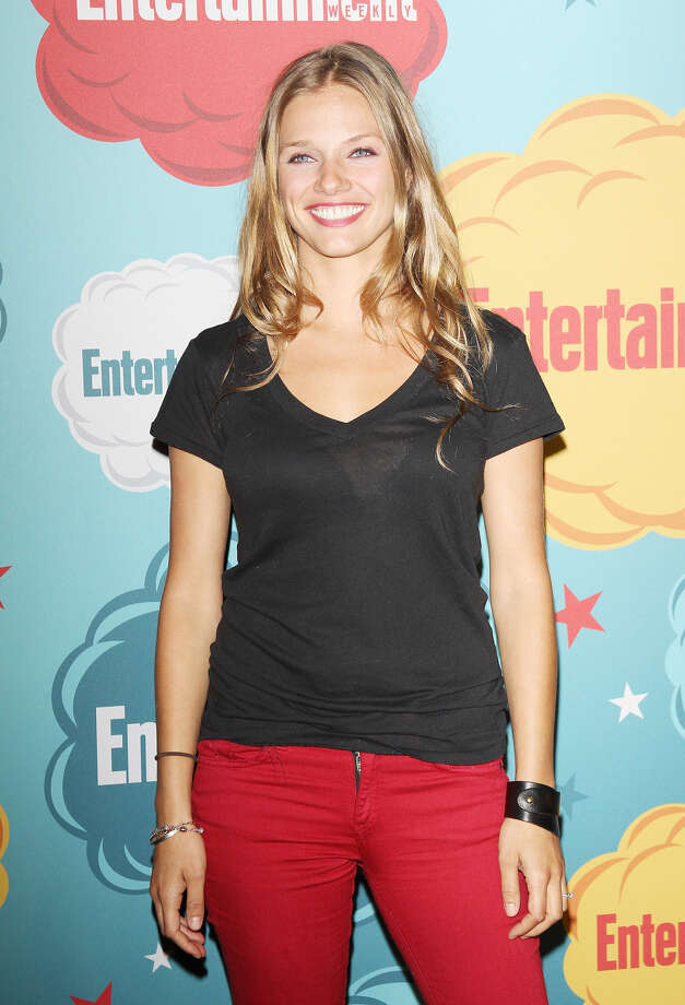 Tracy Spiridakos arrives at the Entertainment Weekly's Annual Comic-Con celebration held at Float at Hard Rock Hotel San Diego on July 20, 2013 in San Diego. Photo: Michael Tran, FilmMagic / Getty Images