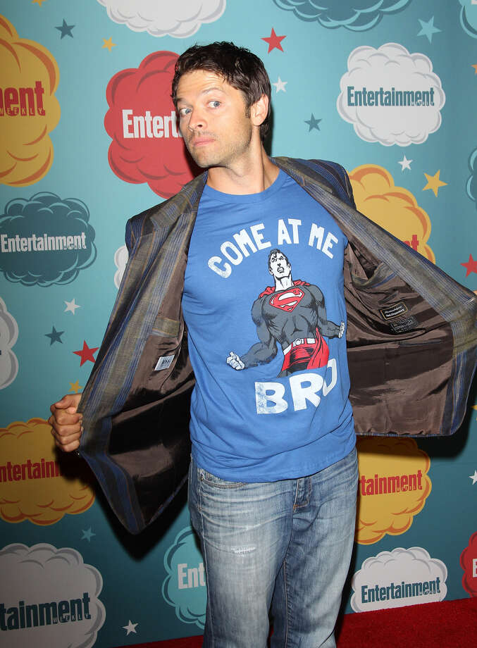 Misha Collins arrives at the Entertainment Weekly's Annual Comic-Con celebration held at Float at Hard Rock Hotel San Diego on July 20, 2013 in San Diego. Photo: Michael Tran, FilmMagic / Getty Images