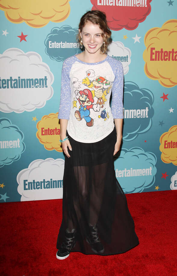 Laura Wiggins arrives at the Entertainment Weekly's Annual Comic-Con celebration held at Float at Hard Rock Hotel San Diego on July 20, 2013 in San Diego. Photo: Michael Tran, FilmMagic / Getty Images