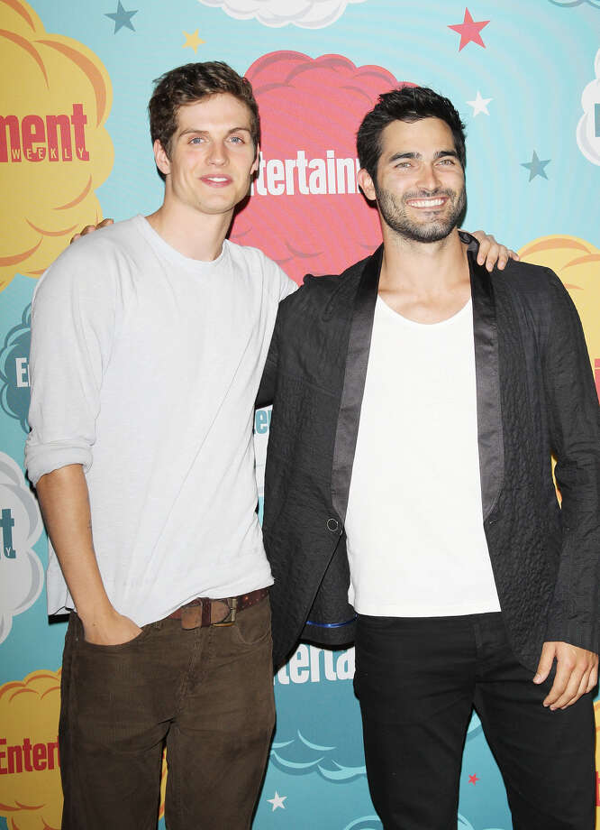 Daniel Sharman (L) and Tyler Hoechlin arrive at the Entertainment Weekly's Annual Comic-Con celebration held at Float at Hard Rock Hotel San Diego on July 20, 2013 in San Diego. Photo: Michael Tran, FilmMagic / Getty Images