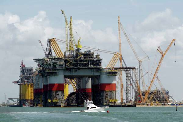 Oil platforms rise high to reach for the deep - HoustonChronicle com