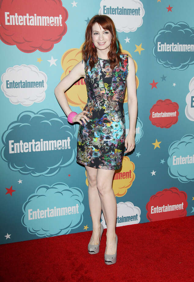 Felicia Day arrives at the Entertainment Weekly's Annual Comic-Con celebration held at Float at Hard Rock Hotel San Diego on July 20, 2013 in San Diego. Photo: Michael Tran, FilmMagic / Getty Images