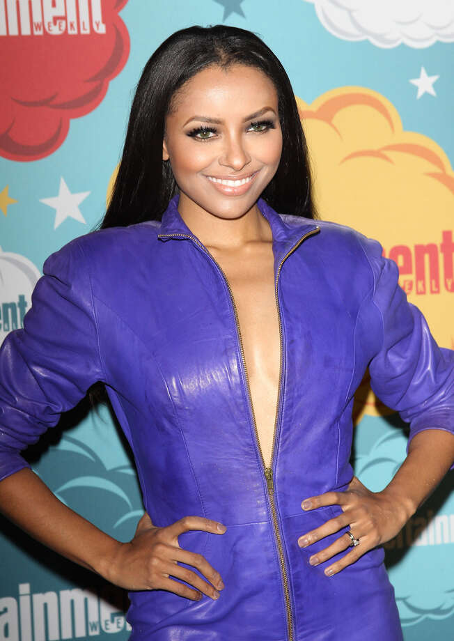 Kat Graham arrives at the Entertainment Weekly's Annual Comic-Con celebration held at Float at Hard Rock Hotel San Diego on July 20, 2013 in San Diego. Photo: Michael Tran, FilmMagic / Getty Images