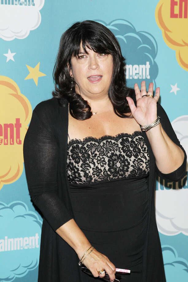 E. L. James arrives at the Entertainment Weekly's Annual Comic-Con celebration held at Float at Hard Rock Hotel San Diego on July 20, 2013 in San Diego. Photo: Michael Tran, FilmMagic / Getty Images