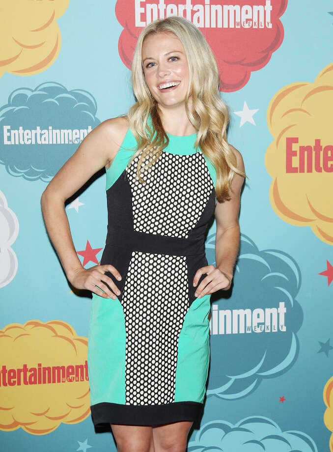 Claire Coffee arrives at the Entertainment Weekly's Annual Comic-Con celebration held at Float at Hard Rock Hotel San Diego on July 20, 2013 in San Diego. Photo: Michael Tran, FilmMagic / Getty Images