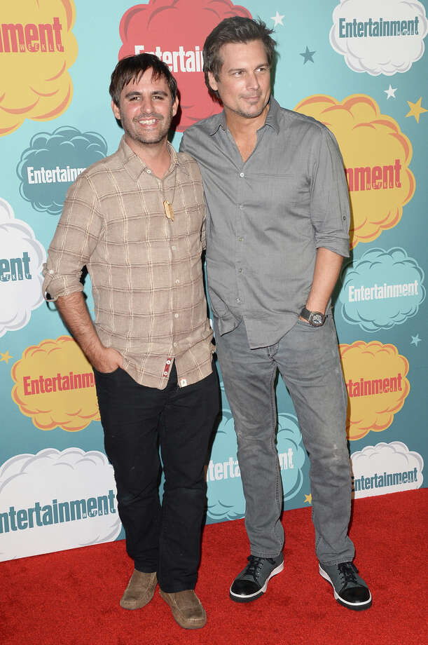 Producer Roberto Orci (L) and director Len Wiseman attend Entertainment Weekly's Annual Comic-Con Celebration at Float at Hard Rock Hotel San Diego on July 20, 2013 in San Diego. Photo: Jason Merritt, Getty Images / Getty Images