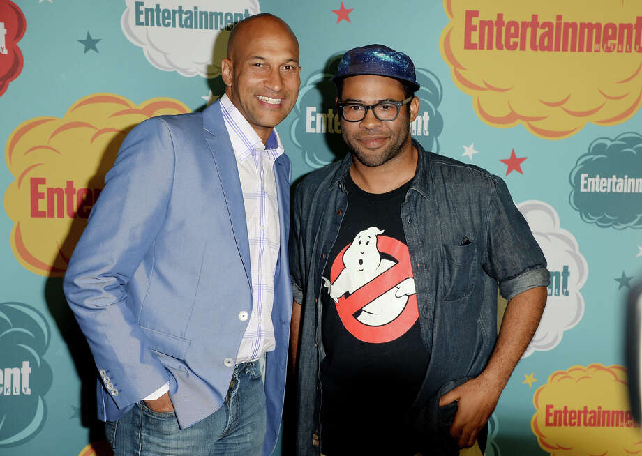 Comedians Jordan Peele (L) and Keegan Michael Keyattends Entertainment Weekly's Annual Comic-Con Celebration at Float at Hard Rock Hotel San Diego on July 20, 2013 in San Diego. Photo: Jason Merritt, Getty Images / Getty Images