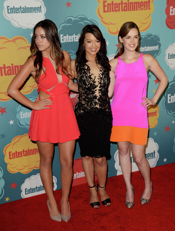 (L-R) Actresses Chloe Bennet, Ming-Na Wen, and Elizabeth Henstridge attend Entertainment Weekly's Annual Comic-Con Celebration at Float at Hard Rock Hotel San Diego on July 20, 2013 in San Diego. Photo: Jason Merritt, Getty Images / Getty Images