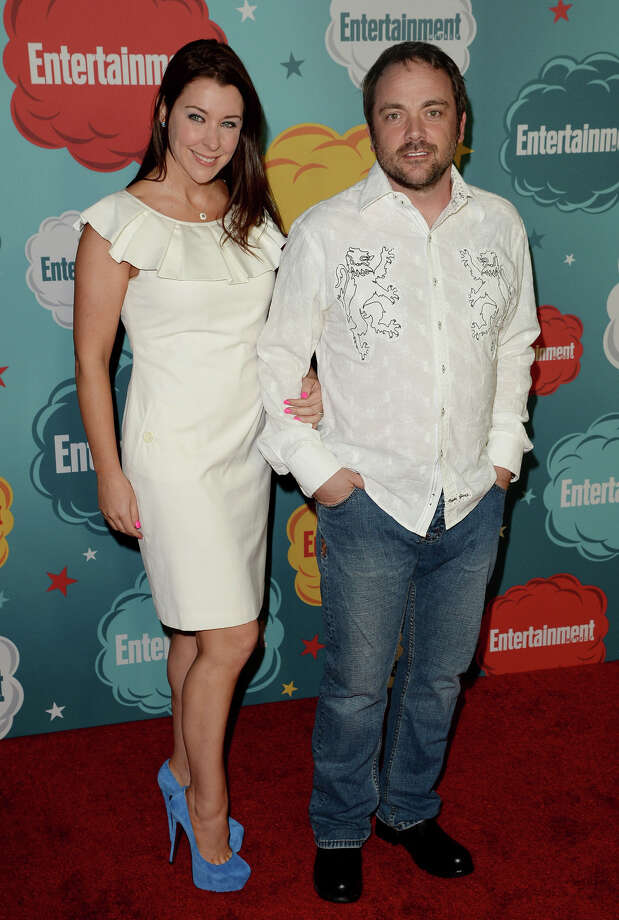 Actor Mark Sheppard (R) and guest attend Entertainment Weekly's Annual Comic-Con Celebration at Float at Hard Rock Hotel San Diego on July 20, 2013 in San Diego. Photo: Jason Merritt, Getty Images / Getty Images