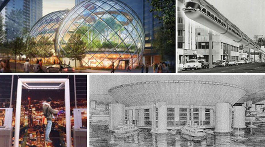 Seattle has had some great crazy ideas lately, from glass cubes on the Space Needle to workspace bubbles by Amazon.