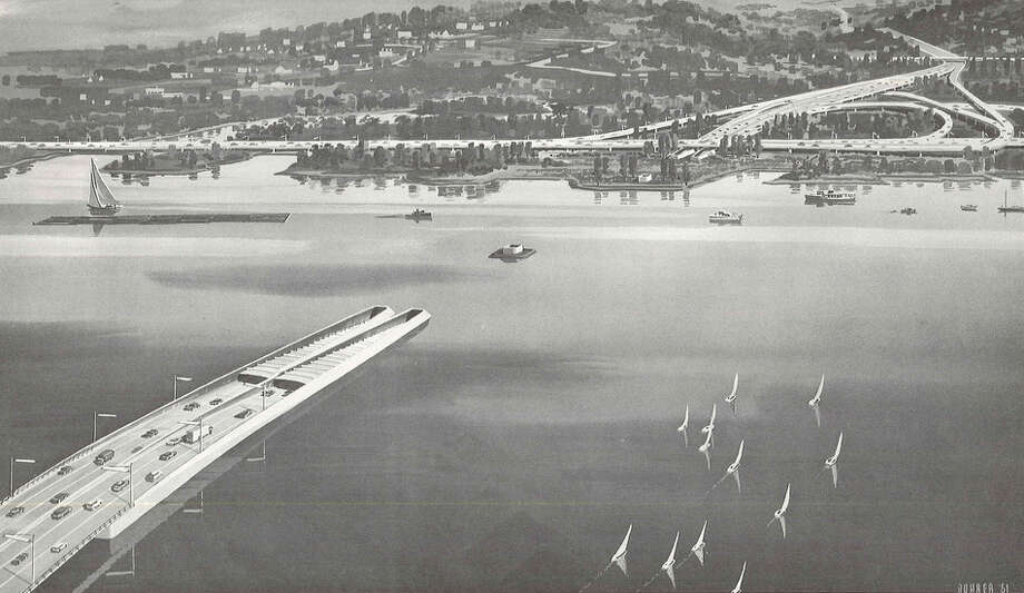 Here's an idea that never made it: An underwater tunnel in Union Bay. 