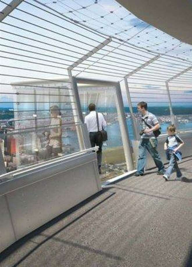 Space Needle glass cubes:This idea - for three viewing cubes on the Needle's halo 500 feet in the air - was pitched last year. But things have since gone dormant. (Space Needle reps did not return requests for comment).