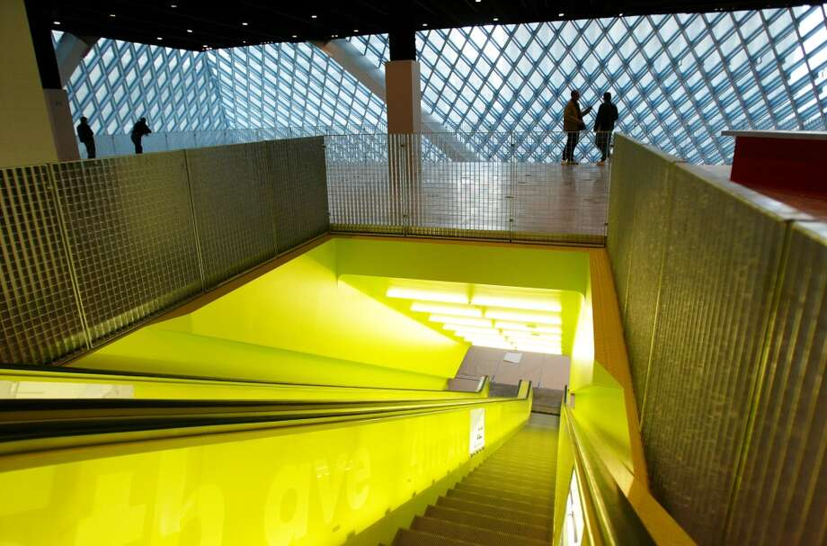 The Seattle Central Library downtown