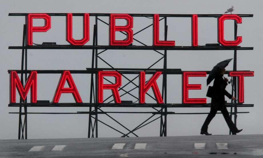 Pike Place Market today.