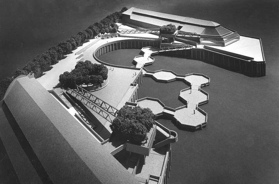 This 1970 design for a waterfront park in Seattle could have been the inspiration for ... Photo: Seattle Municipal Archives, Flickr
