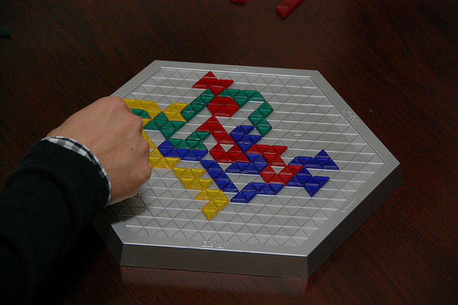 ... the board game Blokus. (Photo: kawataso, Creative Commons Flickr).