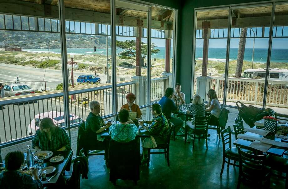 The interior at Puerto 27 in Pacifica.