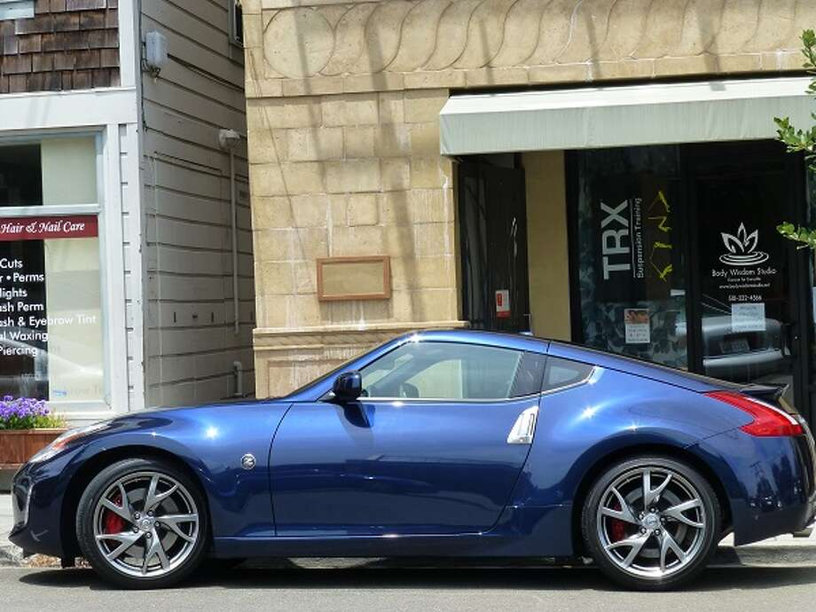 The 2013 Nissan 370Z is a true descendant of the early historic 1970s 240Z -- the original Z car. (All photos by Michael Taylor)