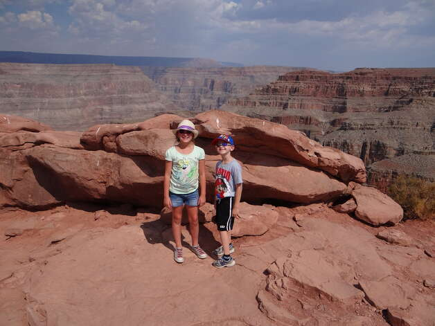 WE TOOK A FAMILY VACATION TO SEE THE GRAND CANYON AND HOOVER DAM. WOW WHAT AN AMAZING VIEW! Submitted by Ann P. Colonie Center Staycation Photo Contest. More information below. Photo: Colonie Center