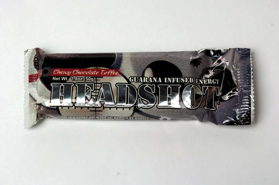 Headshot, a caffeinated candy bar marketed for gamers, has 100 mg of guarana, a caffeinated berry. Photo: JUANITO GARZA, SAN ANTONIO EXPRESS-NEWS / SAN ANTONIO EXPRESS-NEWS