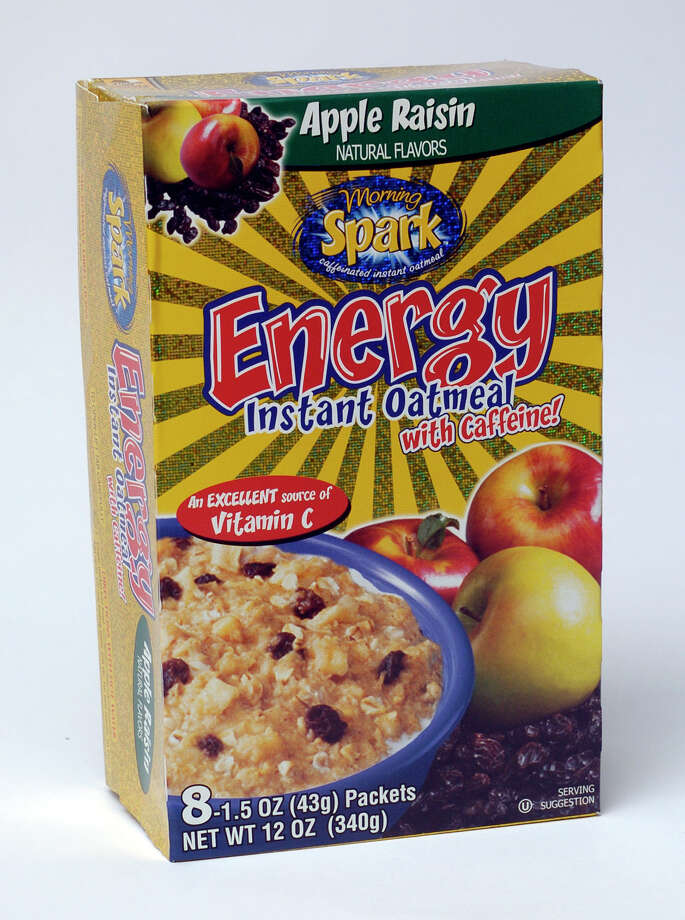 There are four different flavors of Spark Energy Instant Oatmeal, which sneaks the same amount of caffeine into your morning cereal that you would have obtained from a cup of coffee. Photo: JUANITO GARZA, SAN ANTONIO EXPRESS-NEWS / SAN ANTONIO EXPRESS-NEWS