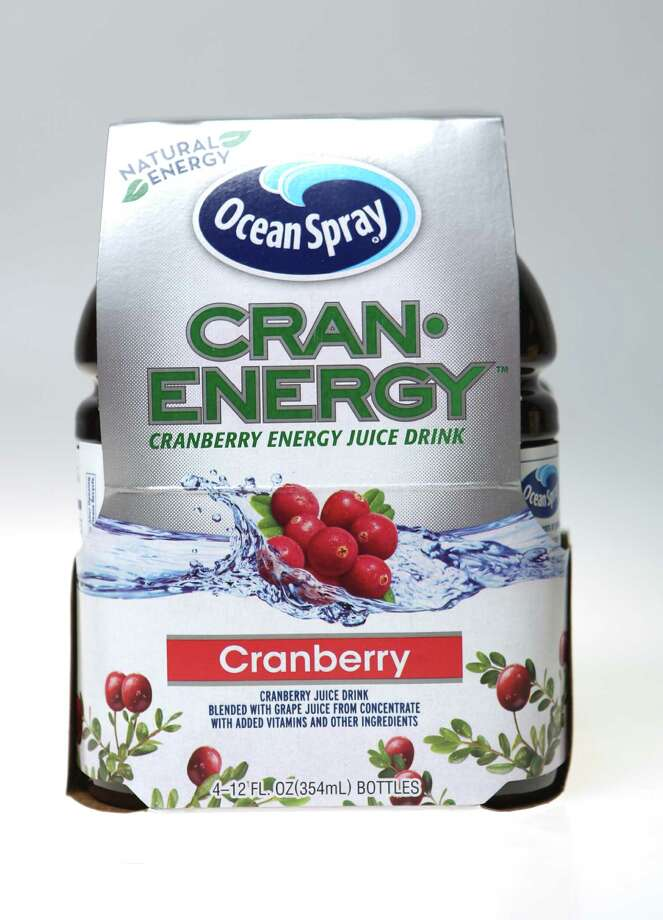 Cran-Energy contains 105 mg of caffeine per 12 fl. oz bottle.  Photo: Helen L. Montoya, San Antonio Express-News / ©2013 San Antonio Express-News