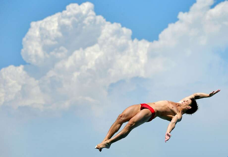 Illya Kvasha of Ukraine competes in the Men's 1m Springboard Diving final on day three of the 15th FINA World Championships. Photo: Adam Pretty, Getty Images