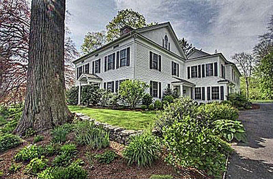 The house at 1050 Old Academy Road was recently sold for $2.7 million. Photo: Contributed Photo / Fairfield Citizen contributed
