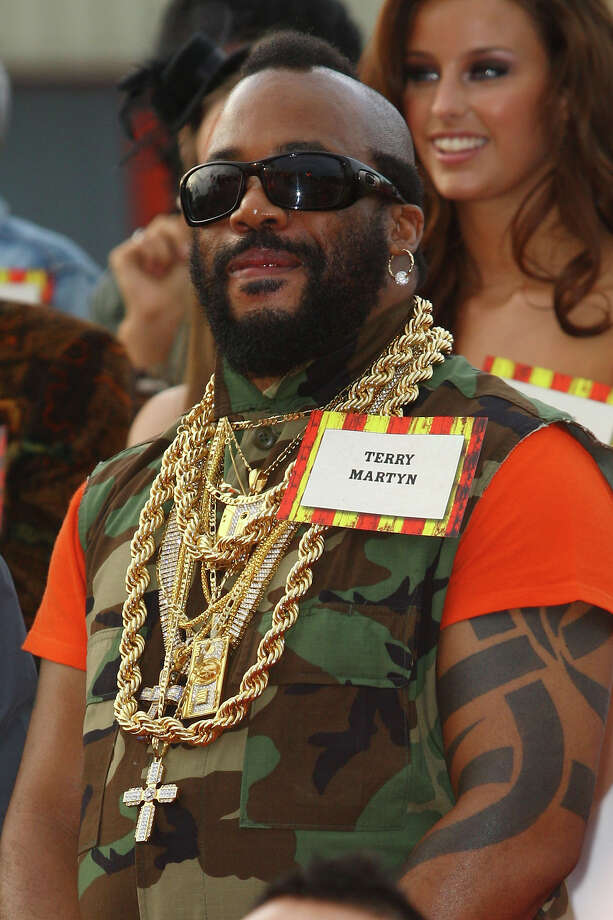 Fake Mr. T. Photo: Neil Mockford, Getty Images / 2010 Getty Images