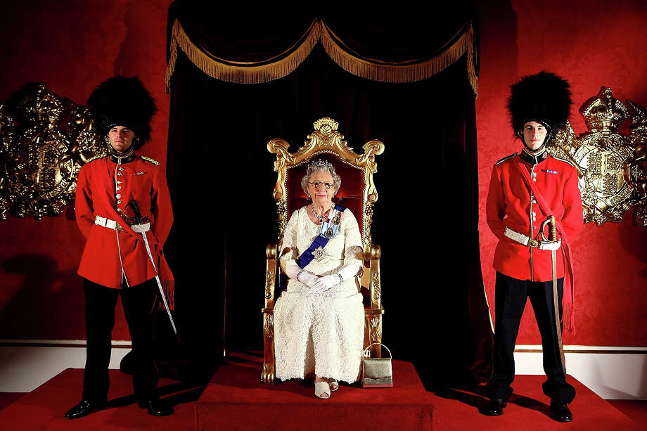 Fake Queen Elizabeth. Photo: Chris Hyde, Getty Images For Oakley / 2012 Getty Images