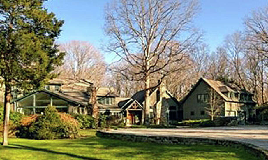 The house at 3 Greenbrier Road recently was sold for $3.1 million. Photo: Contributed Photo / Westport News contributed