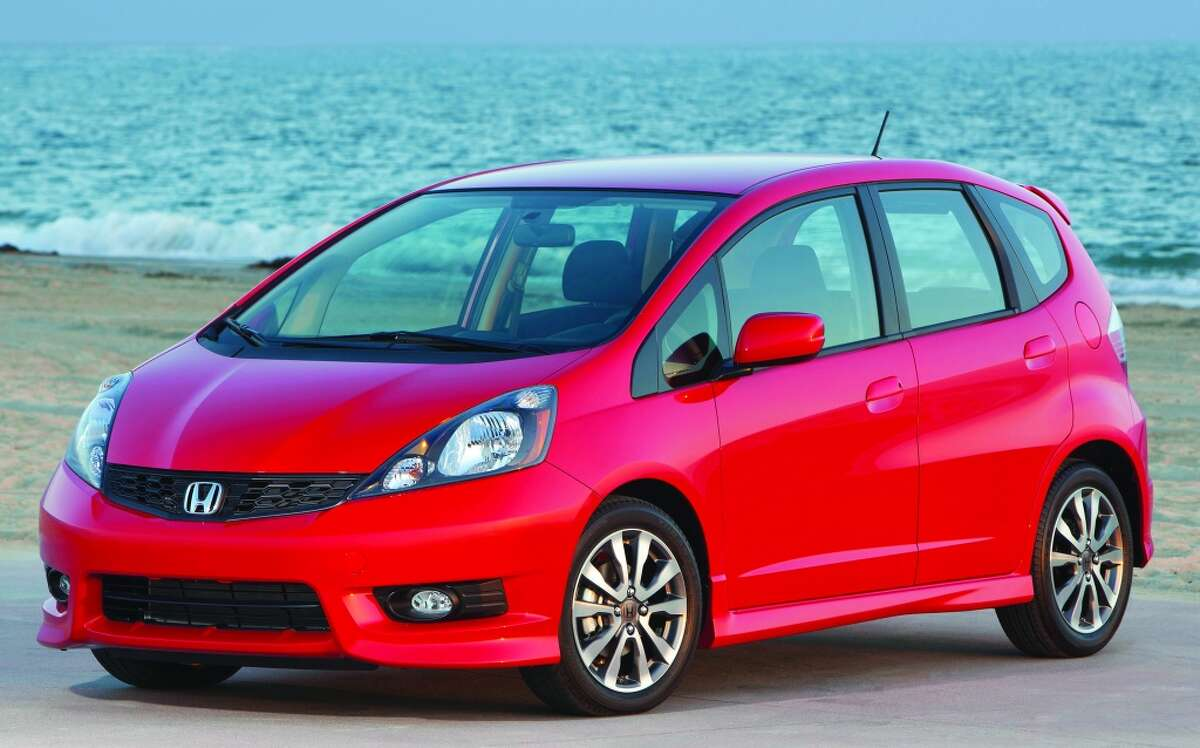 2. Honda Fit Average 5-year depreciation: 41.4% As in you can fit a lot in the rear. The 2013 Honda Fit has 20.6 cubic feet of cargo space - a lot of space for a subcompact - which is one reason it appeals to young families.