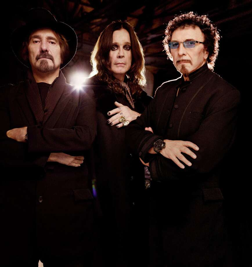 "Black Sabbath (Geezer Butler, left, Ozzy Osbourne and Tony Iommi) are touring is support of the album ""13."" Photo: Courtesy MSO"