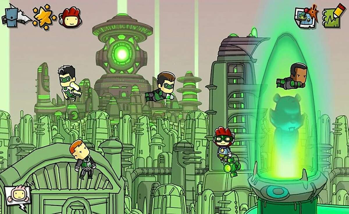 """Summon all the Green Lanterns - as well as any other hero or villain you can think of - in """"Scribblenauts Unmasked: A DC Comics Adventure."""""""