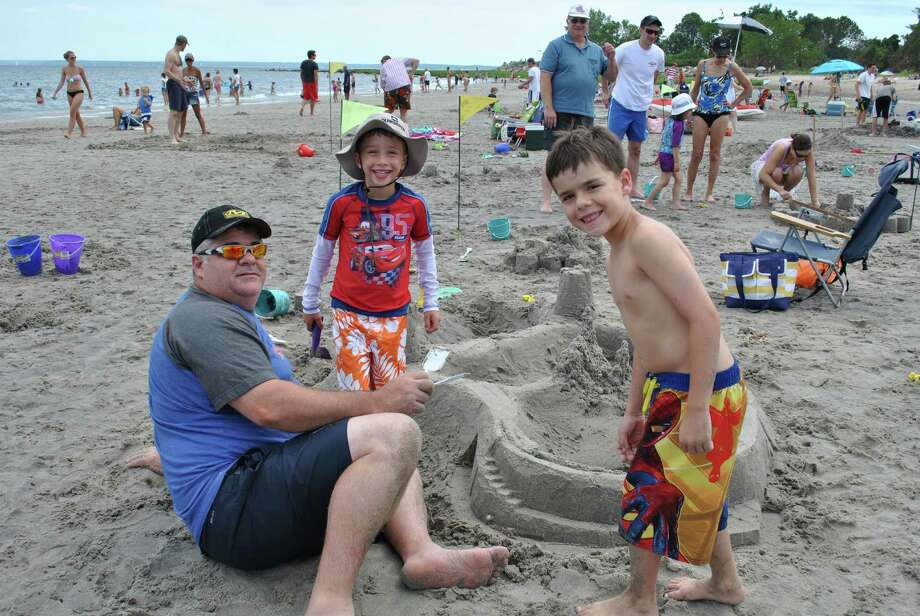 The annual Sandblast sandcastle competition in Greenwich takes place this Saturday at Tod's Point Beach. Find more.  Photo: Lauren Stevens, Lauren Stevens/Hearst Media Group /  Copyright © Lauren A Stevens 2013