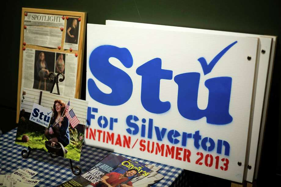 Stu For Silverton is a new musical based off the life of Stu Rasmussen, the first transgendered mayor. Photo: JORDAN STEAD, SEATTLEPI.COM / SEATTLEPI.COM