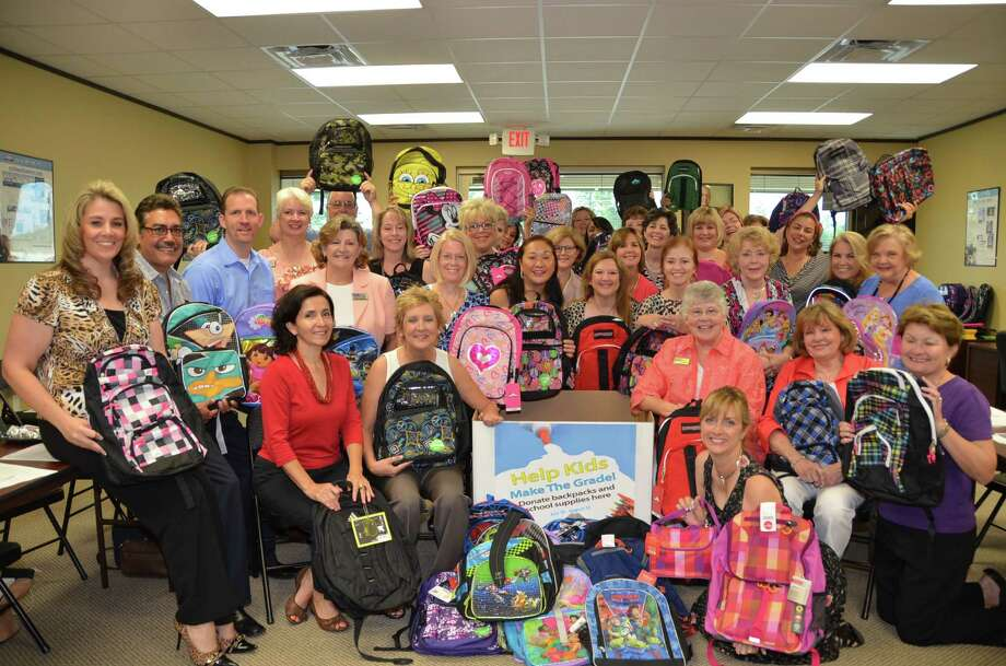 Coldwell Banker United Realtors - The Woodlands has helping the YMCA collect new backpacks for area school children. Photo: Courtesy Of South Montgomery County YMCA