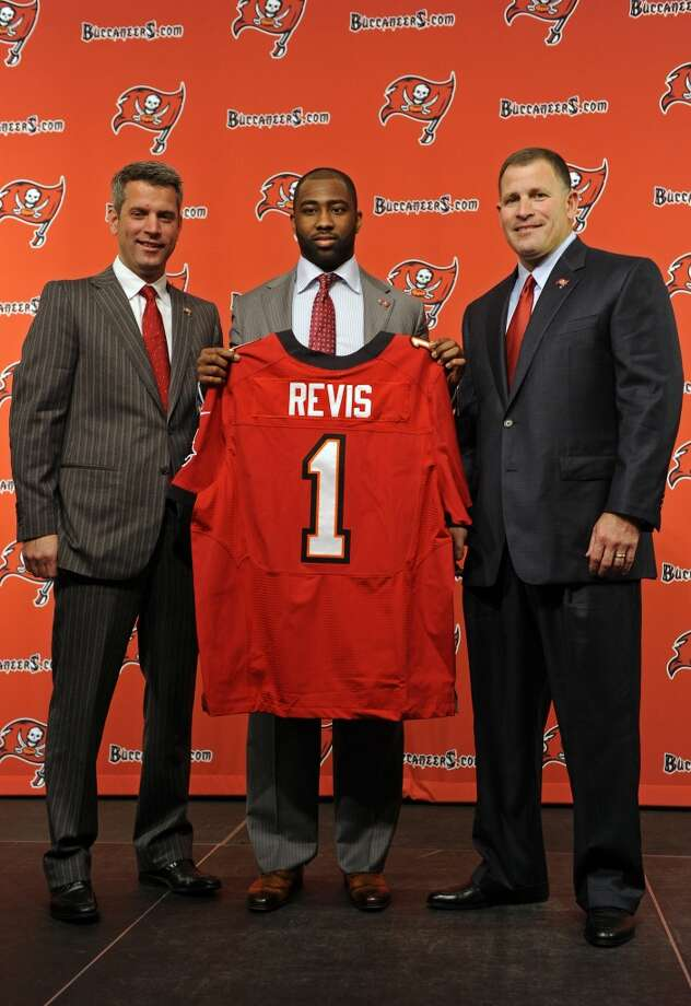 No. 10 Darrelle Revis, CB, Buccaneers Photo: Brian Blanco, Associated Press