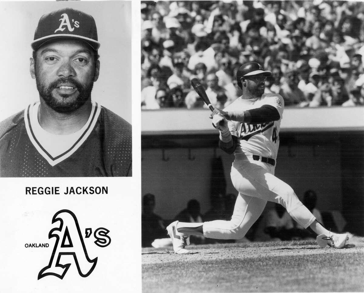 JACKSON-OAKLAND A'S - Reggie Jackson of the Oakland A's. Handout Photo