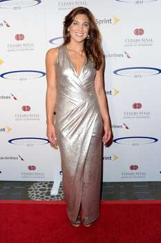 Professional soccer player Hope Solo arrives at the Sports Spectacular 28th Anniversary Gala at the Hyatt Regency Century Plaza on May 19, 2013 in Century City, California. Photo: Allen Berezovsky, WireImage