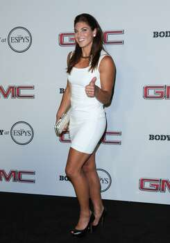 Pro Soccer Player Hope Solo attends the ESPN's 5th Annual Body At ESPYS at Lure on July 16, 2013 in Hollywood, California. Photo: Paul Archuleta, FilmMagic