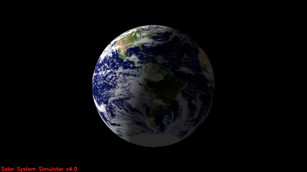 North America and part of the Atlantic Ocean are expected to be illuminated when NASA's Cassini spacecraft takes a snapshot of Earth on July 19, 2013. This view is a close-up simulation. Image credit: NASA/JPL-Caltech