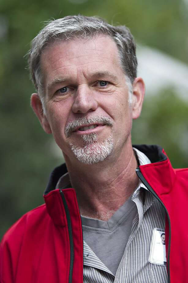 Reed Hastings, president and CEO of Netflix Photo: Daniel Acker, Bloomberg
