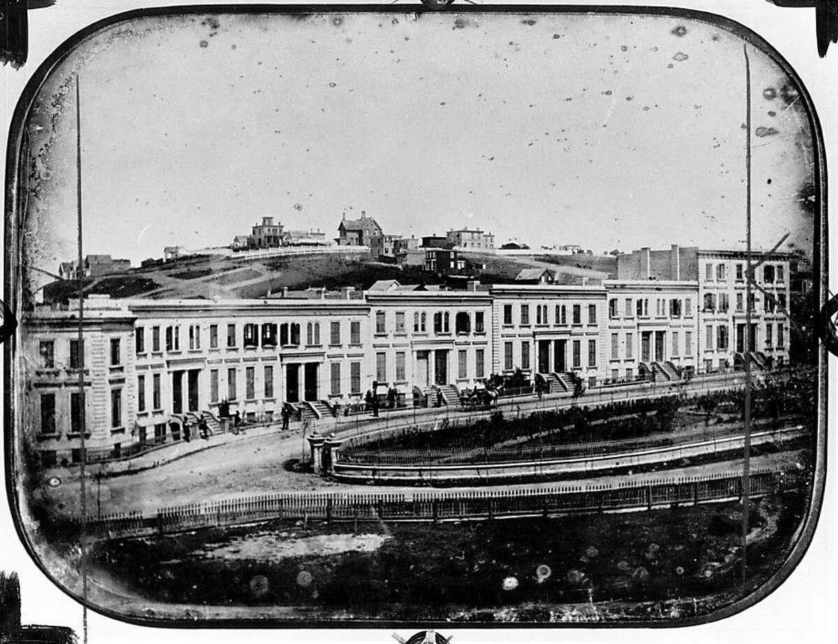 South Park, San Francisco (Circa, 1855)