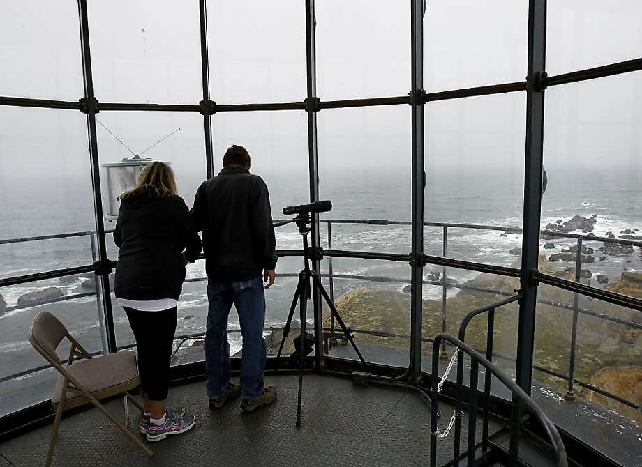 The Point Arena Lighthouse overlooks the ocean at the northern end of the 409 acres that will be preserved as open space. Photo: Brant Ward, The Chronicle