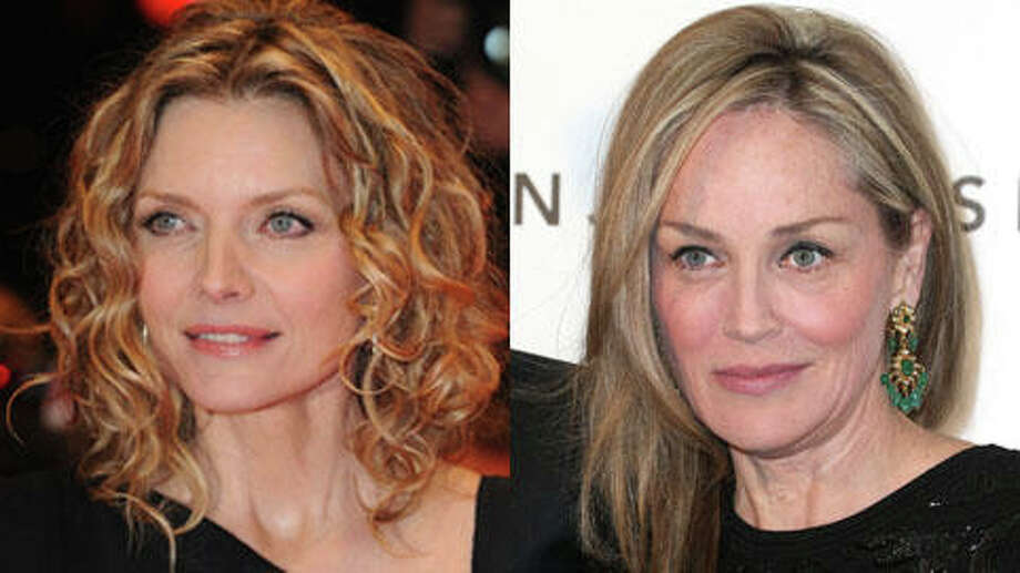Who's older, Sharon Stone or Michelle Pfeiffer? (Frederick M. Brown/Getty and Pascal Le Segretain/Getty)