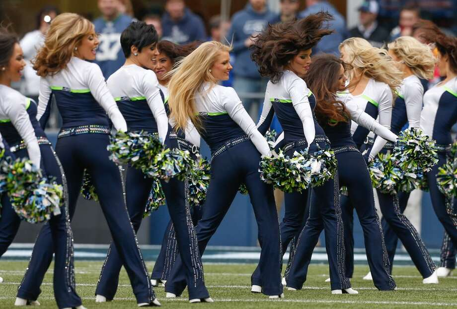 Oh, and the Sea Gals aren't bad to watch either -- if you can pull your eyes away from the field, that is.  Seahawks training camp begins Thursday and runs through the preseason. Tickets to watch are sold out.